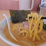 らーめん食堂 正味 - 正味らーめん(太麺)