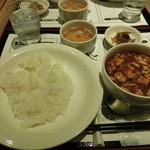 108844123 - 麻婆豆腐セット