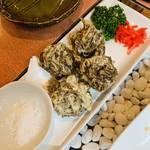 ダイニングキッチン Tommy - もずくの天ぷら