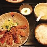たん家 しん - 料理写真:牛たん焼定食