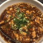 熱血食堂すわ - 麻婆豆腐麺