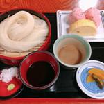 ふきや - 稲庭冷しうどんセット(二色だれ)