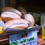10885676 - 見た感じ柔らかめなライ麦パンも安い!
