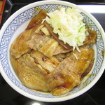 吉野家 - 焼味豚丼(並)