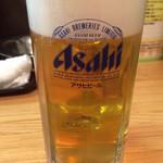 きた鳥 - 生ビール