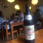 田そば  - オリオンビールじゃないんですね