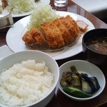 フリッツ - 厚切ロースカツ(2,200円)②
