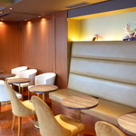 リンツ ショコラ カフェ - 2階席