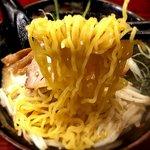 北海道ラーメン ひむろ - 麺 2019.5.31