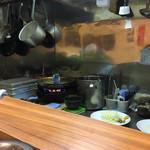 HONMACHI 豚テキ - 厨房風景