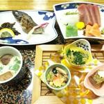 三峯神社興雲閣 - 料理写真:夕食