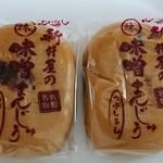 味噌まんじゅう新井屋  - 料理写真:つぶあん@¥97-