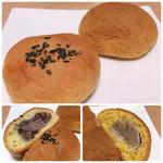 ルーシーカンパニー - 料理写真:ビスケットまんじゅう(粒あん・焼き栗)