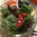 新嘉坡鶏飯 - セットのサラダ