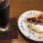 自家焙煎珈琲工房 ロッシュ - ケーキセット