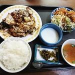台湾料理 夏 - 定食   回鍋肉