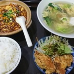 台湾料理 夏 - 定食  麻婆豆腐