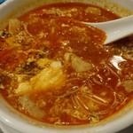 牛角 - ユッケジャンスープ