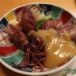 寿司・割烹 四六八ちゃ - 蛍烏賊酢味噌掛け