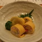 寿司・割烹 四六八ちゃ - 紅ずわい蟹の酢の物