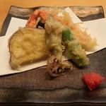寿司・割烹 四六八ちゃ - 天ぷら