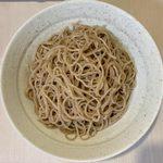 108873592 - もり蕎麦 生かえし ¥600 の麺