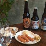 酒まる / SAKEmaru - ビールにソーセージは鉄板です。こだわりのソーセージをご用意しています。