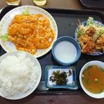 台湾料理 夏 - 定食  エビチリ