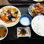 台湾料理 夏 - 定食  酢豚