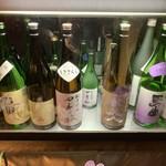 108877096 - 日本酒の種類も豊富…