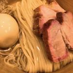 108877959 - 鰹昆布出汁特製醤油つけ麺(1,050)