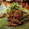 蓮香 - 料理写真:馬告サーロイン炒め(司馬庫斯名物馬告風味)