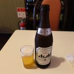 皇庭餃子房 - 瓶ビール550円