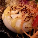 バガワーン・カレー - 半熟たまご(炙りチーズ)
