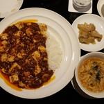 108885475 - 麻婆豆腐かけご飯(1400円)です。