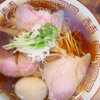中華そば しば田 - 料理写真:味玉中華そば