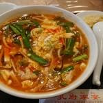 孔府家宴 - 料理写真:酢ラーメンセット 860円(税抜き)
