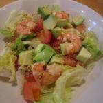 豚珍巻 - 料理写真:トマトとアボガドのサラダ