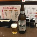 前之園 - いつもの瓶ビール380円