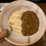 活麺富蔵 - 釜カレー増量