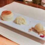 リストランテ ラ チャウ - 3種のデザート