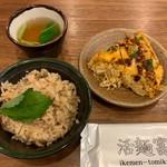 活麺富蔵 - 定食(家内)