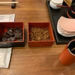 活麺富蔵 - サービスの佃煮等