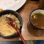 活麺富蔵 - 天かす