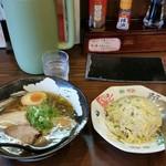 麺や えん - みつきらーめん炒飯セット1100円