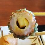 丸亀製麺 - チーズちくわ磯辺揚げ