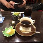 108896444 - キリマンジャロとアイスコーヒー