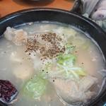 オムニ食堂 - 料理写真:さむげたん半身
