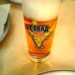 Ashoka - コブラビールグラス.JPG