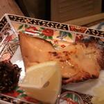 10890076 - 鱒の味噌焼き